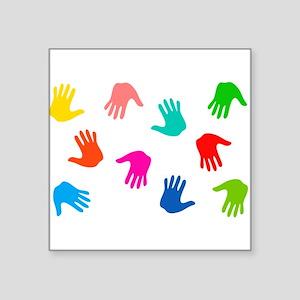 Hand Prints Sticker