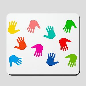 Hand Prints Mousepad