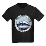 USS GREGORY Kids Dark T-Shirt