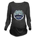 USS GREGORY Long Sleeve Maternity T-Shirt