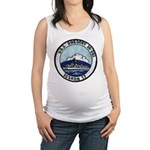 USS GREGORY Maternity Tank Top
