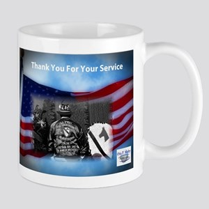 Thank You For Your Service Mugs