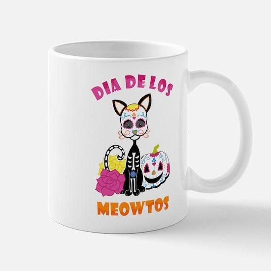 Dia De Los Meowtos Mug