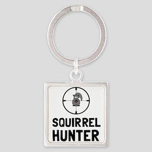 Squirrel Hunter Keychains