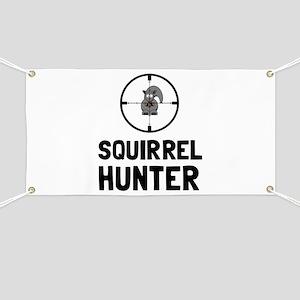 Squirrel Hunter Banner