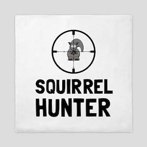 Squirrel Hunter Queen Duvet