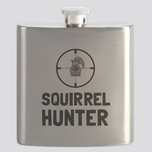 Squirrel Hunter Flask