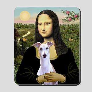 Mona & Whippet Mousepad