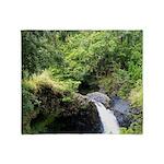 Maui_falls Throw Blanket