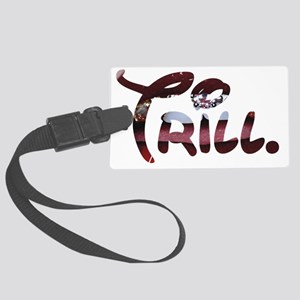 Trill Lips Large Luggage Tag