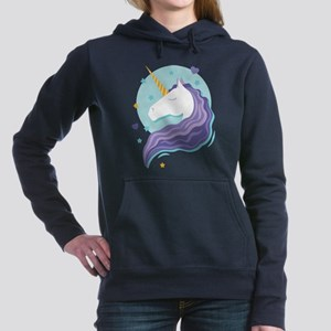 Purple-Maned Unicorn Sweatshirt
