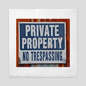 PRIVATE PROPERTY! Queen Duvet