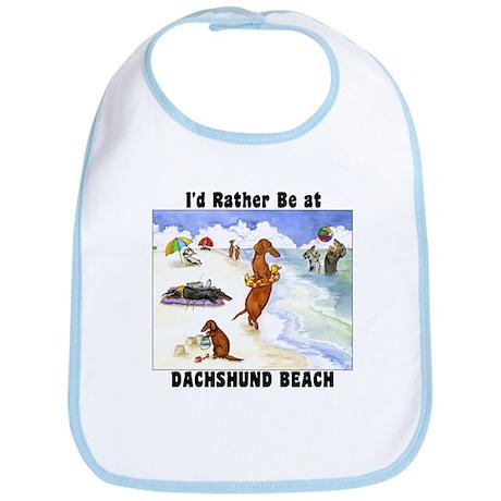 Dachshund Beach Bib