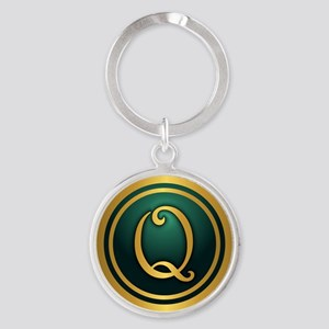 Irish Luck Q Keychains