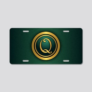 Irish Luck Q Aluminum License Plate