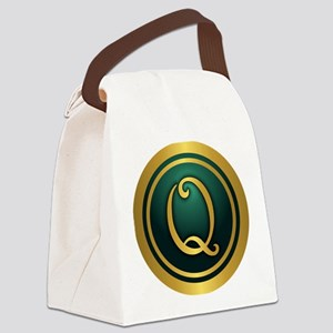Irish Luck Q Canvas Lunch Bag