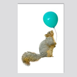 Fat Squirrel Postcards (Package of 8)