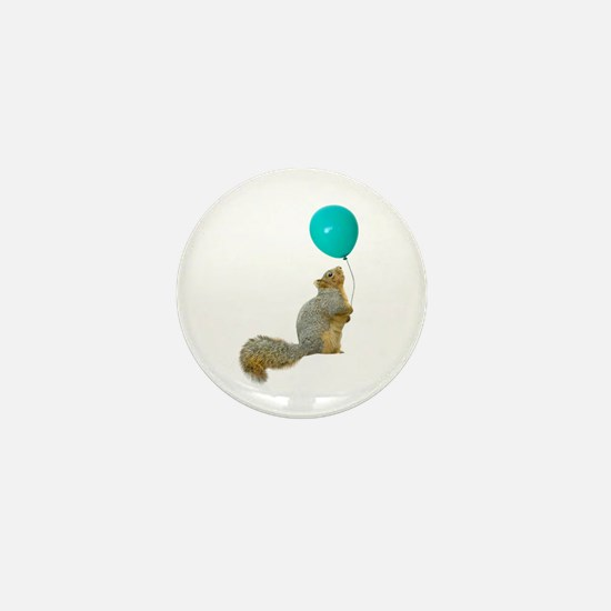 Fat Squirrel Mini Button