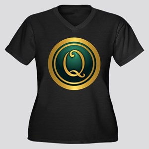 Irish Luck Q Plus Size T-Shirt