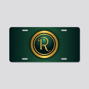 Irish Luck R Aluminum License Plate