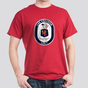 USS Freedom LCS-1 Dark T-Shirt