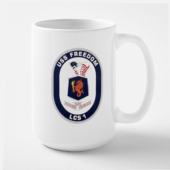 USS Freedom LCS-1 Large Mug