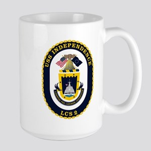 USS Independence LCS-2 Large Mug