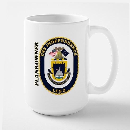 LCS-2 Plankowner Large Mug