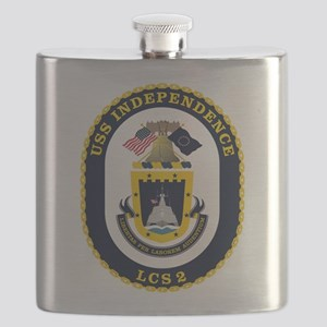 USS Independence LCS-2 Flask