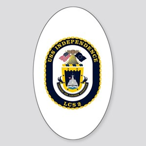 USS Independence LCS-2 Sticker (Oval)