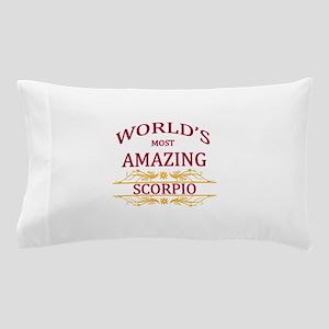 World's Most Amazing Scorpio Pillow Case