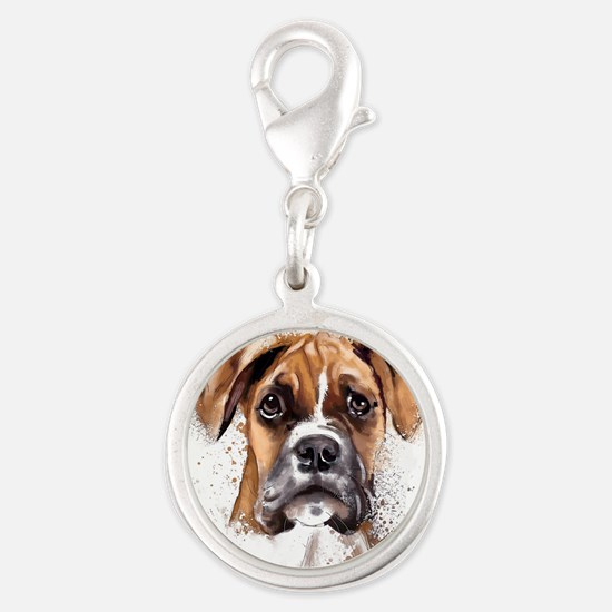 Boxer Painting Charms