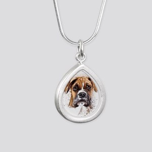 Boxer Painting Necklaces
