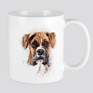 Boxer Painting Mugs