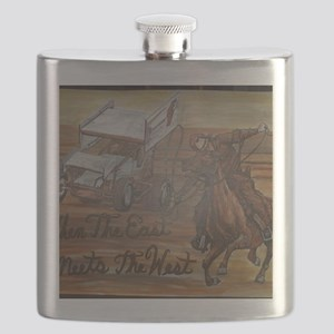 When the East meets the West Flask