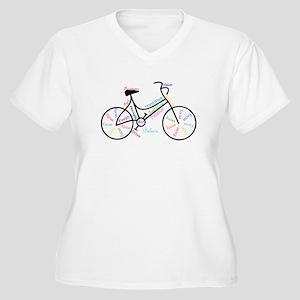 Motivational Words Bike Hobby or Sport Plus Size T