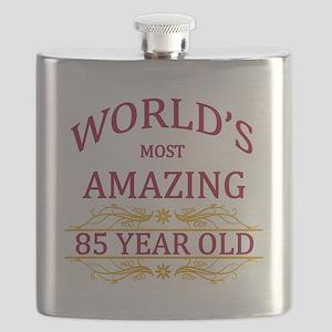 85th. Birthday Flask