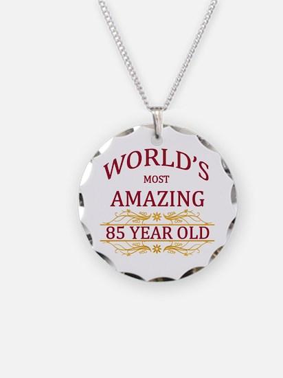 85th. Birthday Necklace
