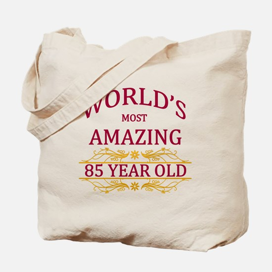 85th. Birthday Tote Bag