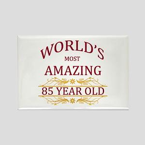 85th. Birthday Rectangle Magnet