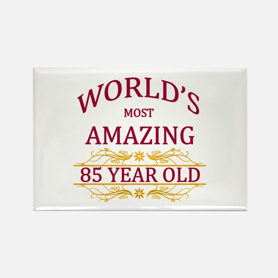 85th. Birthday Rectangle Magnet