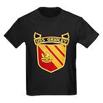 USS GRIDLEY Kids Dark T-Shirt