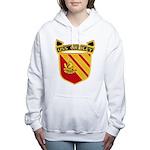 USS GRIDLEY Women's Hooded Sweatshirt
