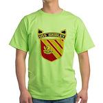 USS GRIDLEY Green T-Shirt