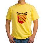 USS GRIDLEY Yellow T-Shirt