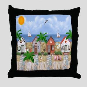 Island Time Throw Pillow