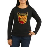 USS GRIDLEY Women's Long Sleeve Dark T-Shirt