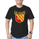 USS GRIDLEY Men's Fitted T-Shirt (dark)