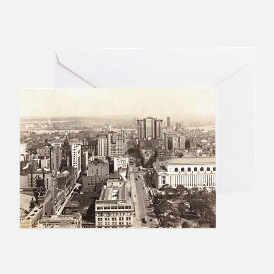 42nd St., NYC Vintage Greeting Card
