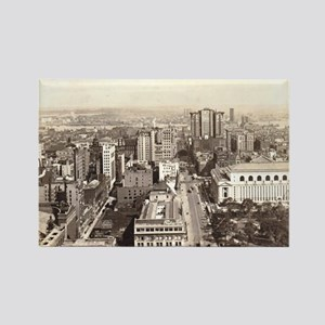 42nd St., NYC Vintage Rectangle Magnet